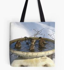 Don't You Just Love a Heated Pool? Tote Bag