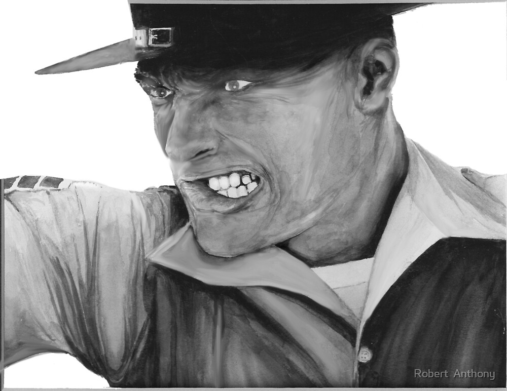 The Drill Instructor by Robert  Anthony