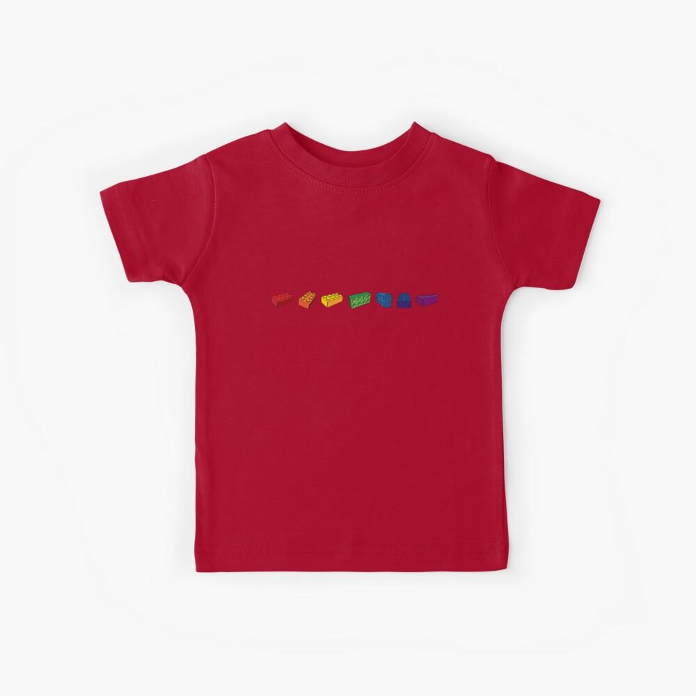 Welche Farbe hat dein Lego? Kinder T-Shirt