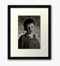 Boy Framed Print