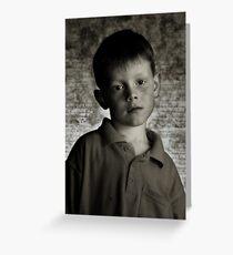 Boy Greeting Card