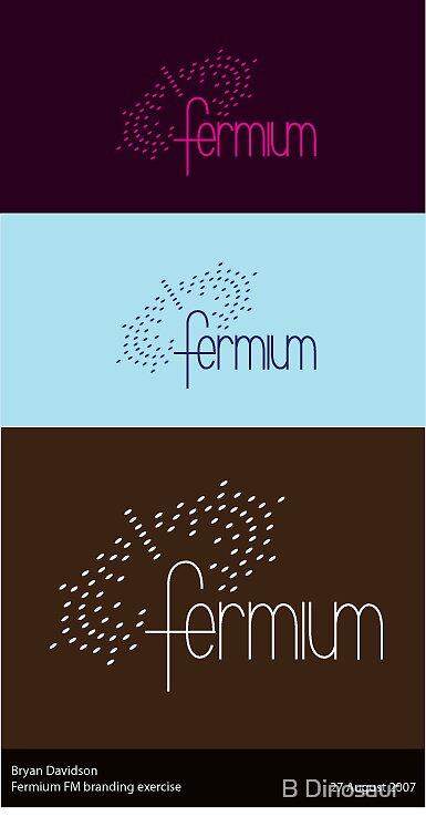 Fermium FM Logotype by Bryan Davidson