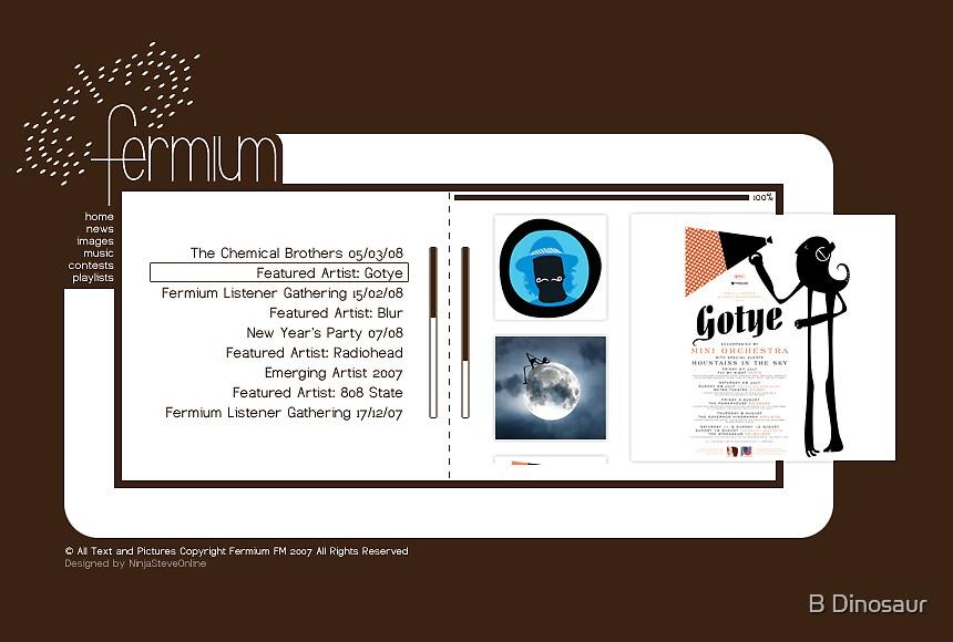 Fermium FM Layout 2 by Bryan Davidson