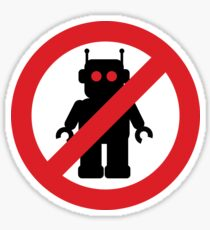 Ban The Bots - Stick it to them Sticker