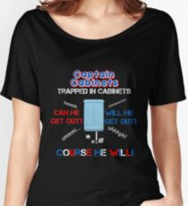 Captain Cabinet Women's Relaxed Fit T-Shirt