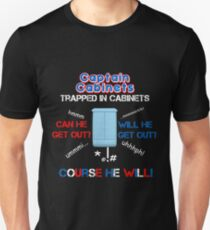 Captain Cabinet Unisex T-Shirt