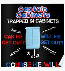 Captain Cabinet Poster