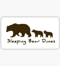 Sleeping Bear Sand Dunes Sticker