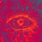 flaming eye by JP100