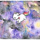 Space unicorn by BunnyMaelstrom