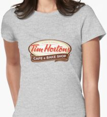 Tim Hortons Womens Fitted T-Shirt