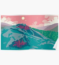 Tillvaro Pixel Art Landscape Poster