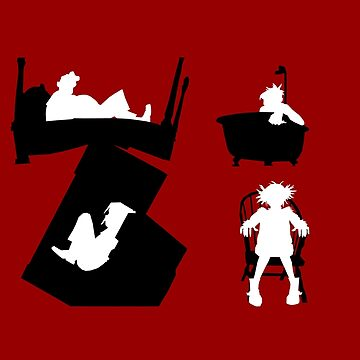 Gorillaz Saturnz Barz Silhouette (Without Borders) by marcello505