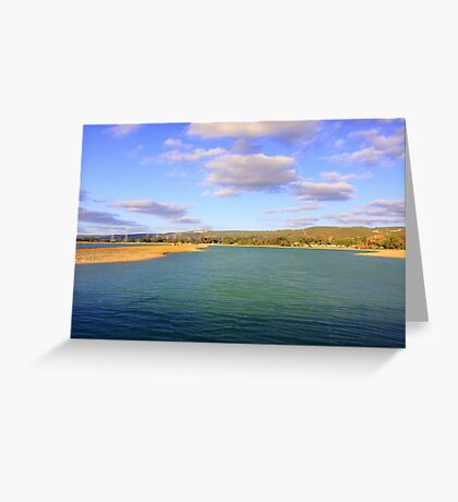 Champion Lake - Afternoon  Greeting Card