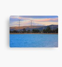 Champion Lake - At Sunset Canvas Print