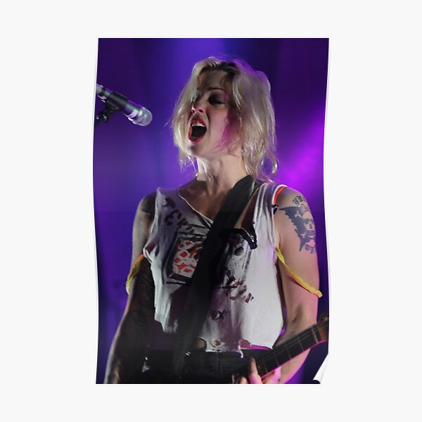 Brody Dalle in full flight! Poster
