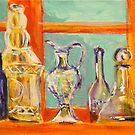 Matisse's bottles by christine purtle