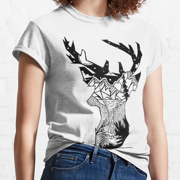 Wilderness Deer Classic T-Shirt