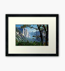 Yosemite Day Framed Print