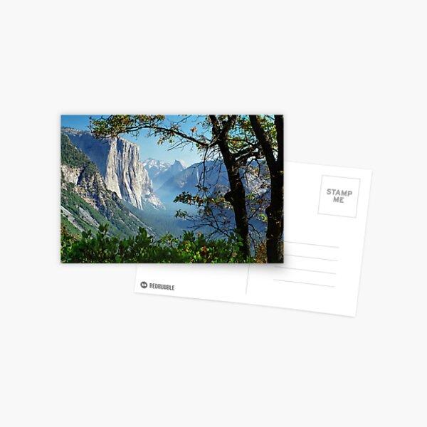 Yosemite Day Postcard