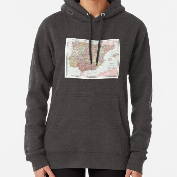 LGBT Flag Map of New Hampshire Womens Pullover Retro Hoodie Sweatshirt Cotton Hooded