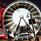 sky wheel by Brock Hunter