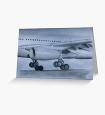 Airbus A330  Greeting Card