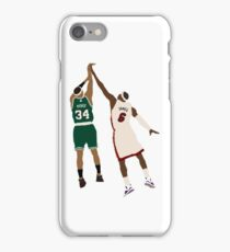 Paul Pierce Clutch Shot Over LeBron iPhone Case/Skin
