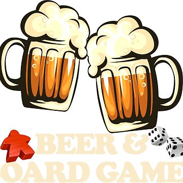 Beer and Board Games by mintytees