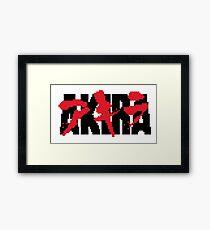 AKIRA I Framed Print