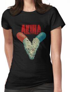 AKIRA V Womens Fitted T-Shirt