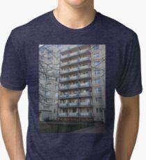 Berlin blocks Tri-blend T-Shirt