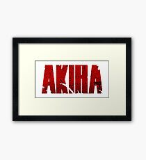 AKIRA III Framed Print