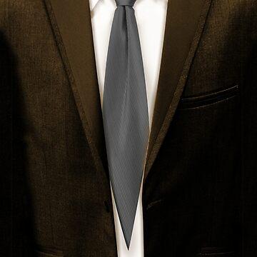 Silver Tie, Brown Suit by Lord-Mothman
