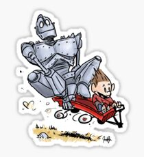Iron Giant Sticker