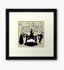 Don't Starve Together Shadow Pieces Framed Print