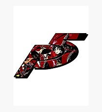 Persona 5 Logo Fanart Photographic Print