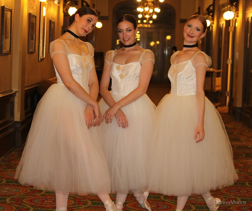 Three lovely ballerinas.... by DonnaMoore