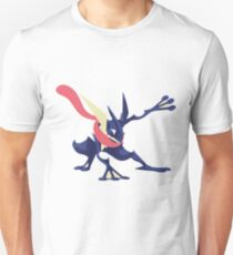 Minimalist Greninja from Super Smash Bros. 4  Unisex T-Shirt