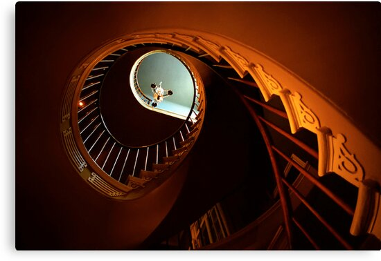 Southern Spiral Staircase by Mark Ramstead
