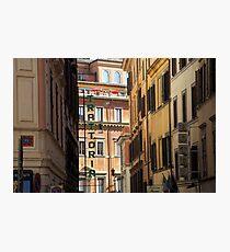 Trattoria - Rome, Italy Photographic Print