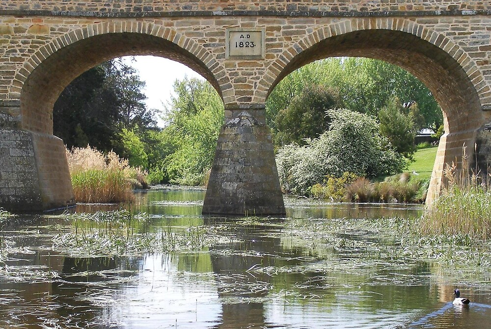 Richmond Bridge and River. by terryk
