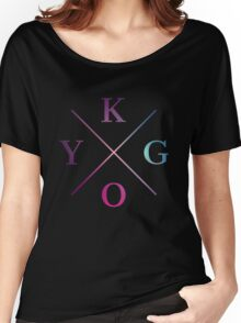 Kygo - Blue Violet Design Women's Relaxed Fit T-Shirt