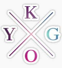 Kygo - Blue Violet Design Sticker