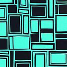 Windows & Frames - Teal by figandfossil