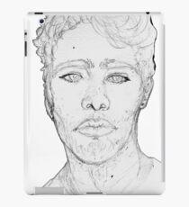 Bust (Grey Block Version) iPad Case/Skin