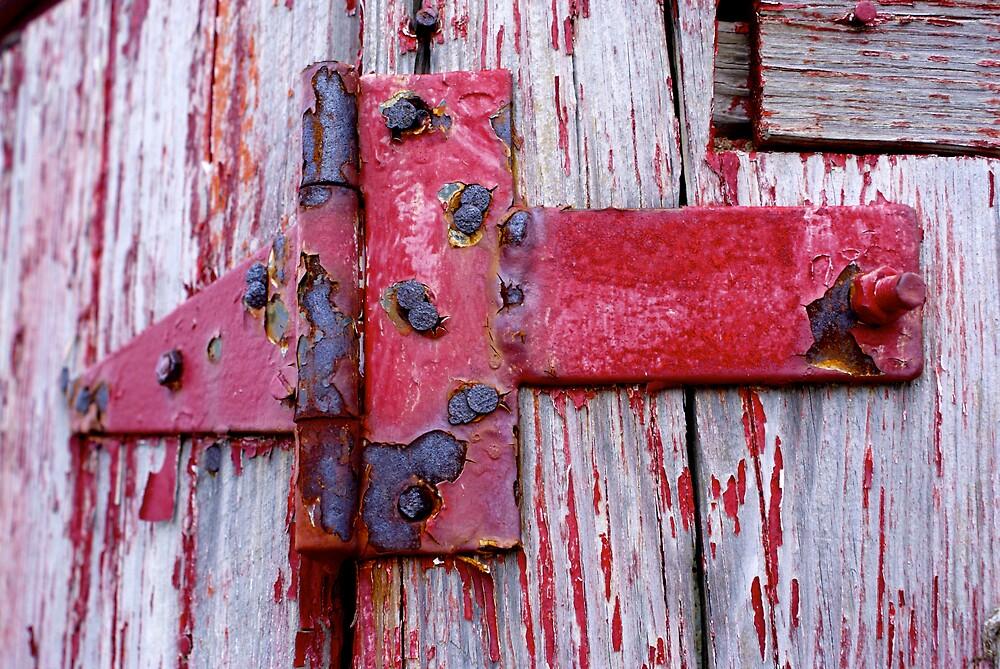 Red Hinge Series1 by Rod  Adams