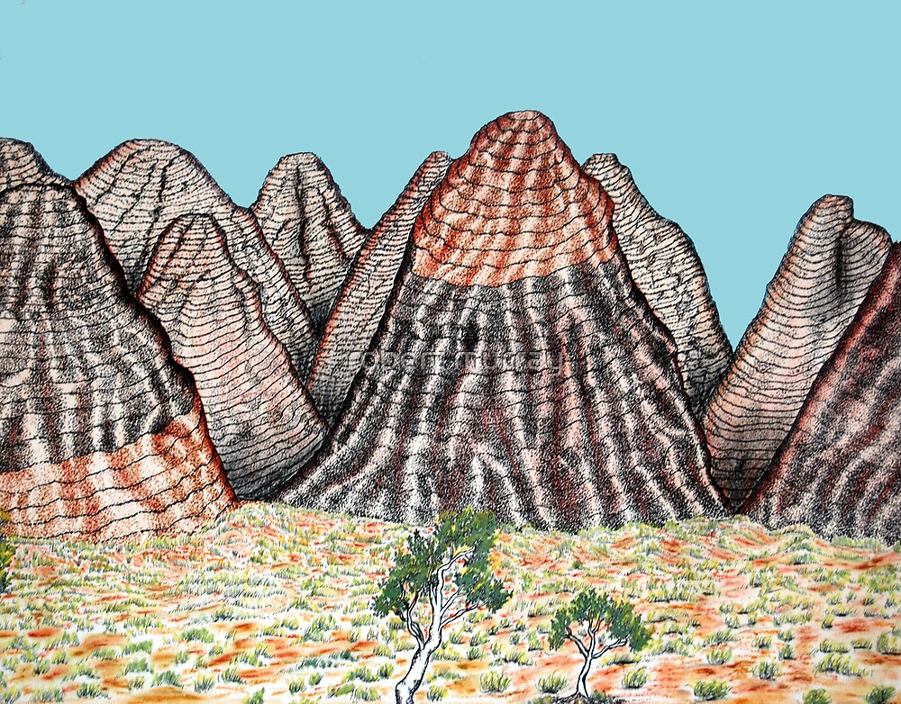 The Beehives or Bungle Bungles by robert murray