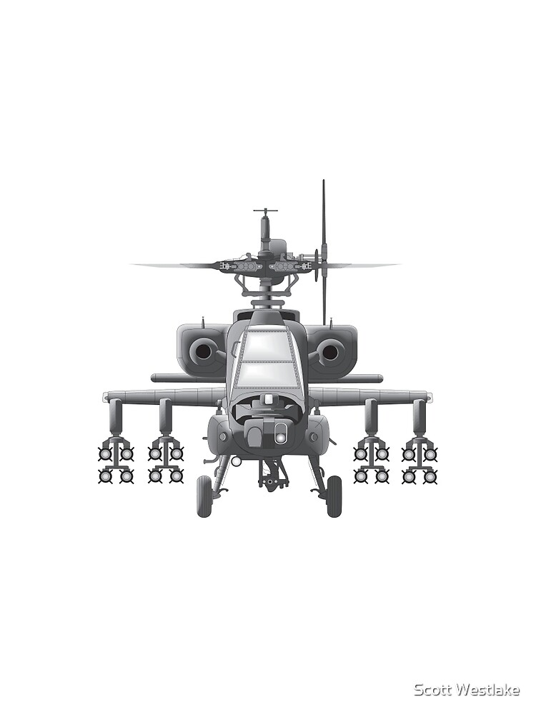 Apache Helicopter by snapperk9