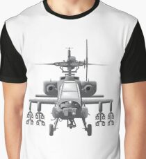 Apache Helicopter Graphic T-Shirt